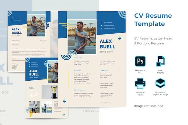 Cv履歴書テンプレート