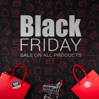 Cyber black friday sales promotion