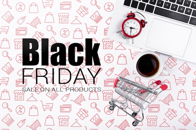 Cyber campaign for black friday Free Psd