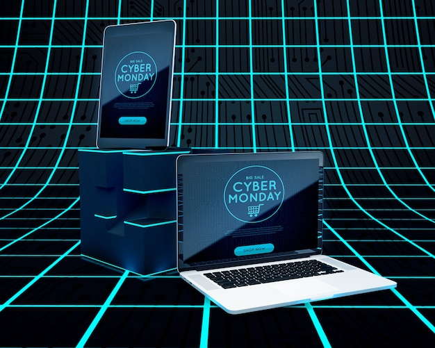 Cyber monday high tech electronic devices sale