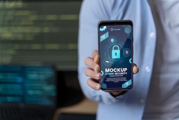 サイバーセキュリティ設計のモックアップ