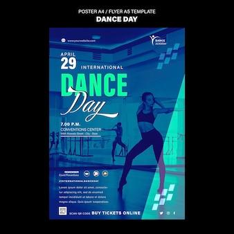 Dance day print template