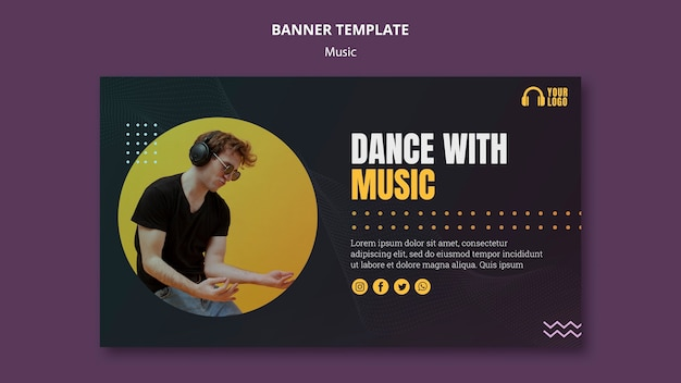 Dance with music event