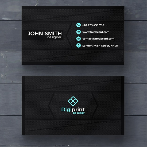 Business card template photoshop juvecenitdelacabrera business card template photoshop reheart Gallery