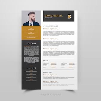 David garcia-resume template