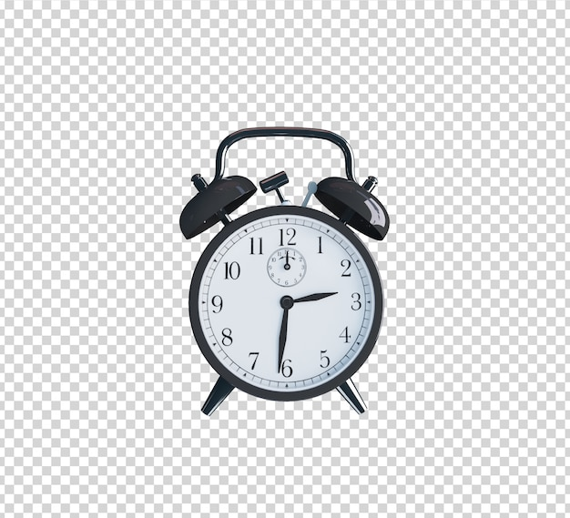 Decoration 3d rendering clock