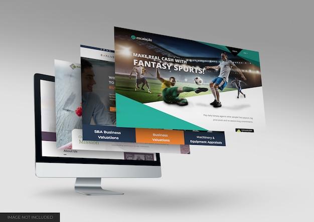Dektop макет сайта