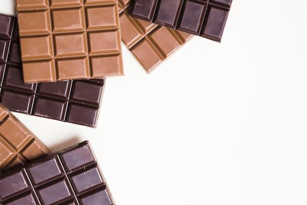 Вкусный шоколадный концепт-макет