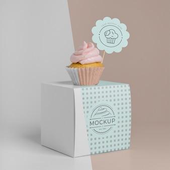 Вкусный макет кекса