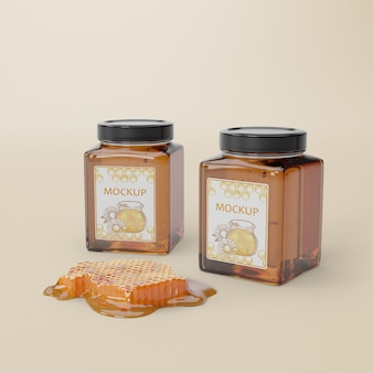 Delicious honey product