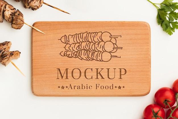美味しい肉串モックアップ