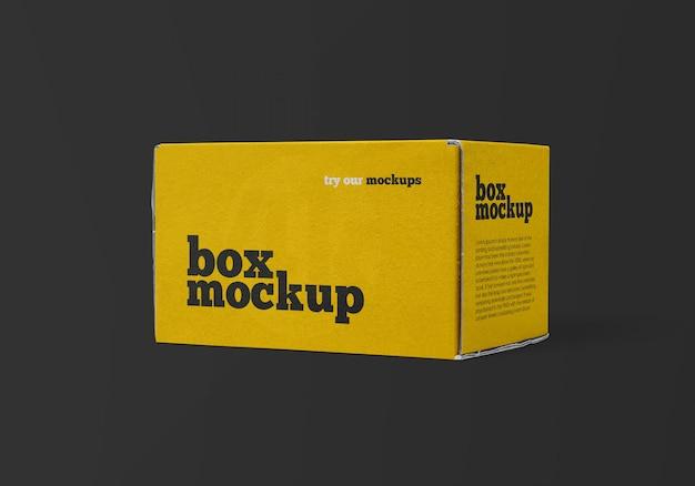 Макет коробки доставки