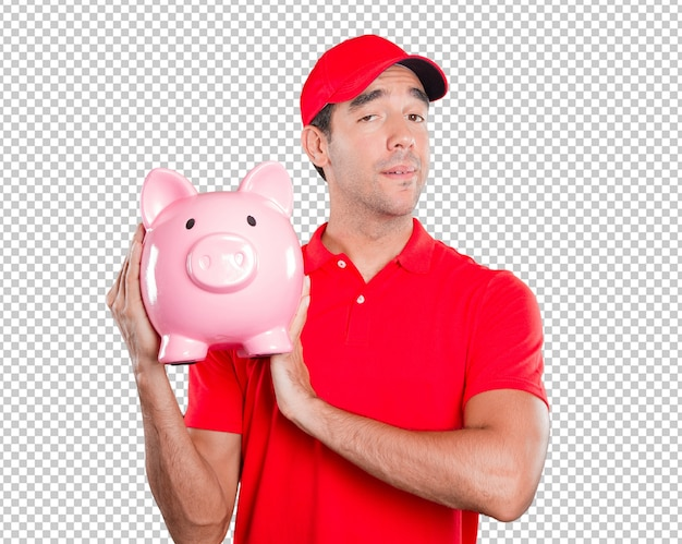 Delivery man worried about finances