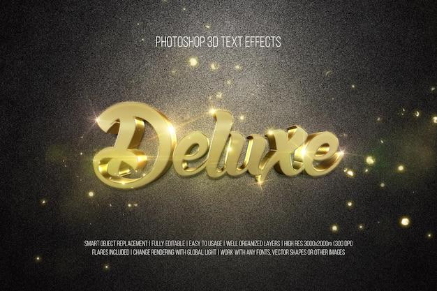 Текстовые эффекты deluxe 3d