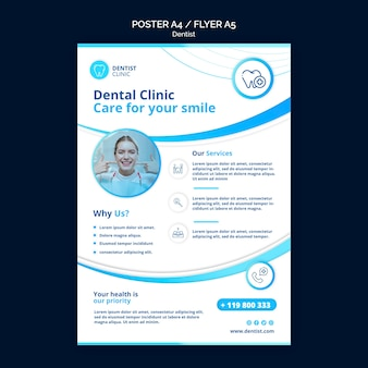 Dentist poster theme