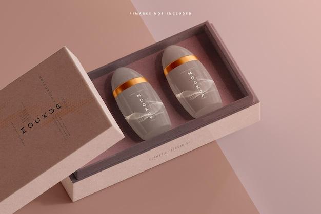 Макет упаковки дезодоранта