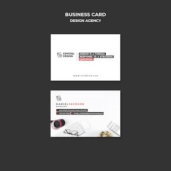 Визитная карточка дизайн-агентства
