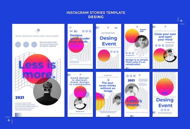 Создавайте истории событий в социальных сетях