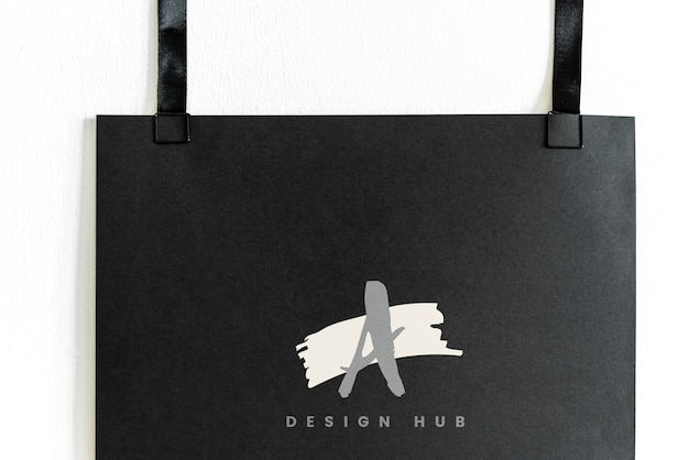 Un logo del design hub logo