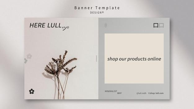 Дизайн шаблона интерьера баннера