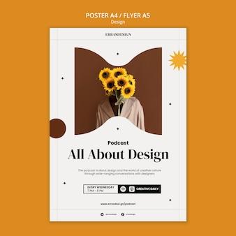 Modello di progettazione del manifesto di design
