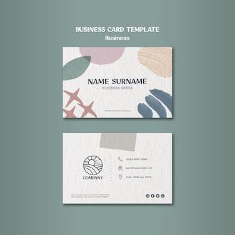 Визитная карточка дизайнерского приложения