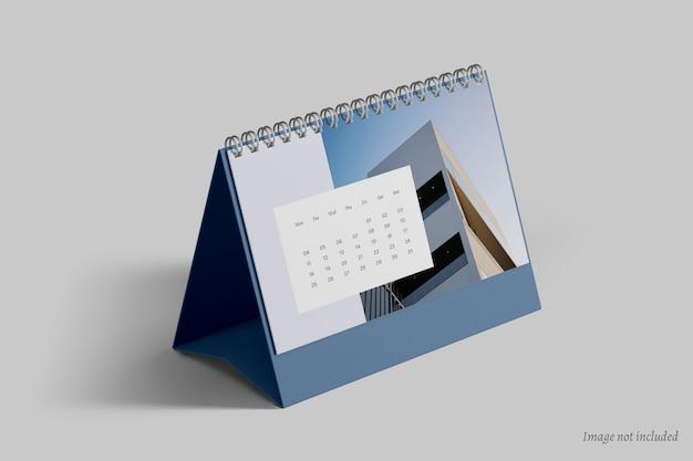 卓上カレンダーのモックアップ
