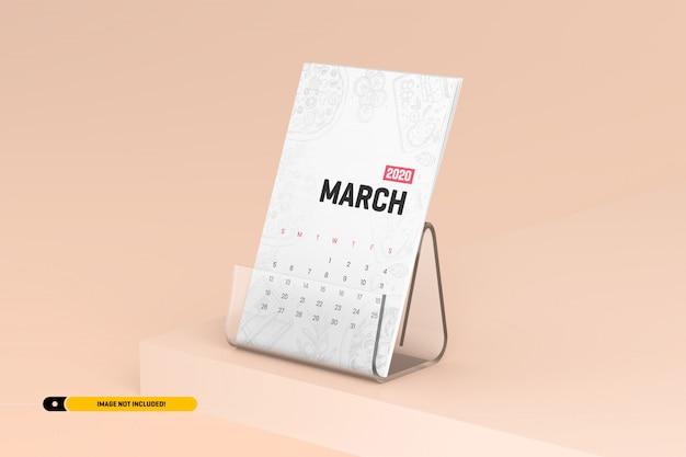 Настольный календарь с подставкой макет