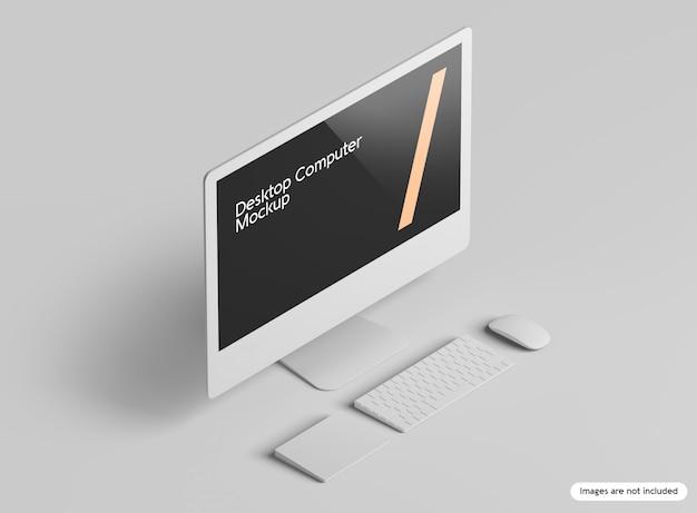데스크탑 컴퓨터 모형