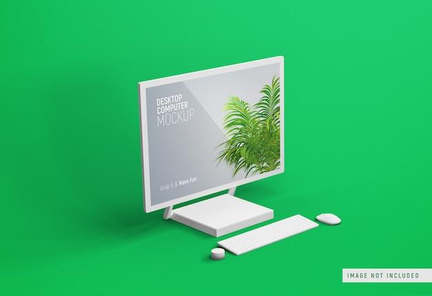 데스크탑 컴퓨터 표면 스튜디오 클레이 모형