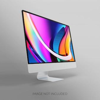 デスクトップ画面のモックアップデザイン