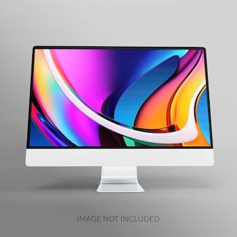 Дизайн мокапа экрана рабочего стола