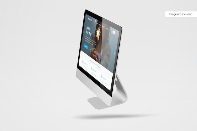 데스크탑 화면 모형