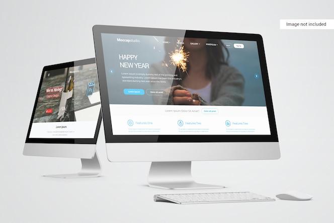 桌面屏幕模型