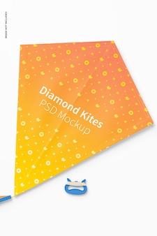 다이아몬드 비행 연 모형, 평면도