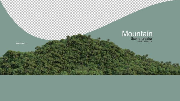 Different types of mountains