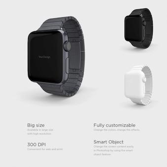 Differents smartwatches presentation