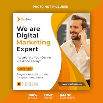 Digital business marketing social media