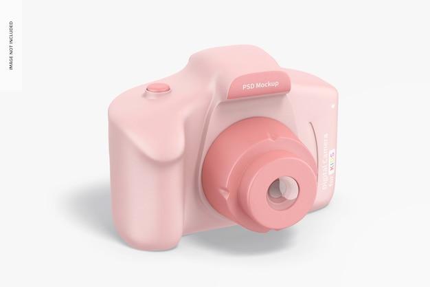 Digital camera for kids mockup