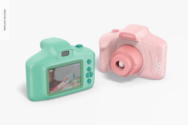 キッズモックアップ用デジタルカメラ