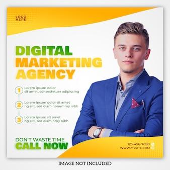 Digital marketing agency social media post