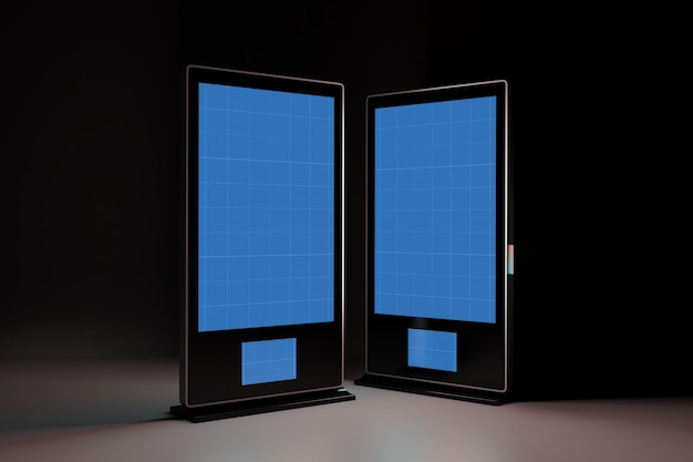 Digital signage in dark