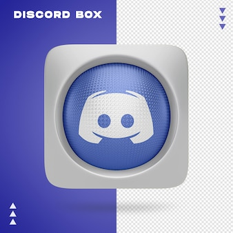 3d renderin 절연의 불화 상자
