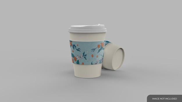 일회용 커피 컵 모형