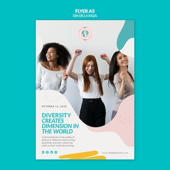 Diversity creates dimension in the world flyer