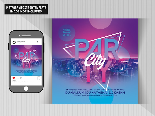 City Sounds Party Vectors, Photos and PSD files | Free Download