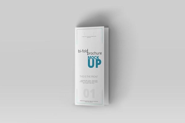 Макет брошюры dl bi-fold