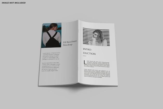 Дизайн макета двойной брошюры dl
