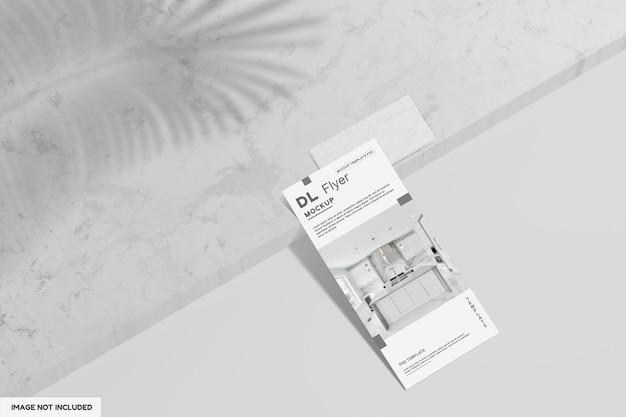 Dl 전단지 주방 모형 디자인