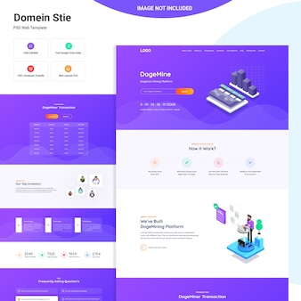 Dogeminer web ui design